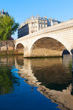 Louis Philippe bridge in Paris. Royalty Free Stock Photography