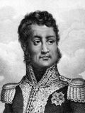 Louis Philippe I. (1773-1850) on engraving from 1859. King of France during 1830-1848. Engraved by unknown artist and published in Meyers Konversations-Lexikon Stock Image