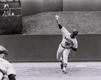 Louis Tiant, les Red Sox de Boston Image stock