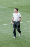 Louis van Gaal coach of Manchester United Stock Photos