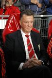 Louis van Gaal Manchester Unied Royalty Free Stock Image