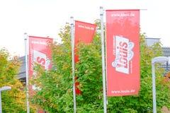 Louis vlaggen Stock Foto