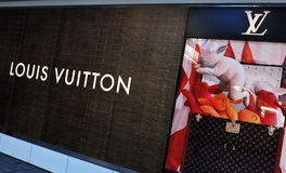 Louis Vuitton stock image