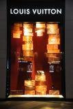 Louis Vuitton arbeiten Butike um Stockbild