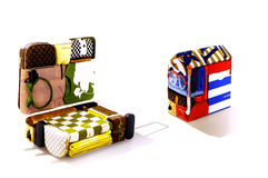 Louis vuitton the art of packing Royalty Free Stock Images