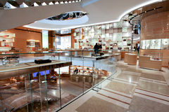 Louis Vuitton clothing store in Rome Stock Image