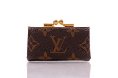 Louis Vuitton Coin Purse Stock Photos