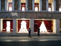 Louis Vuitton firar den kungliga bröllopfasaden London Arkivbild