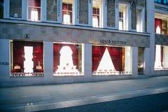 Louis Vuitton firar den kungliga bröllopfasaden London Royaltyfri Fotografi