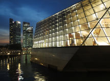 LOUIS VUITTON  Flagship Store In Singapore Royalty Free Stock Images