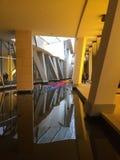 Louis Vuitton Fondation - откровенное Gehry стоковое изображение