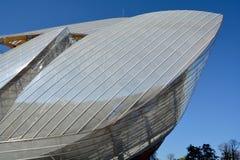 Louis Vuitton Foundation images libres de droits