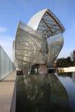 Louis Vuitton Foundation Fotografía de archivo libre de regalías