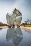 Louis Vuitton Foundation lizenzfreies stockbild