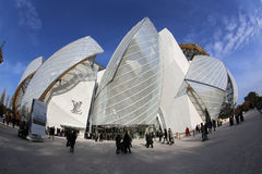 Louis Vuitton Foundation Royalty Free Stock Photo