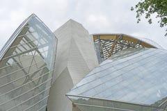 Louis Vuitton Foundation, París, Francia Fotografía de archivo libre de regalías