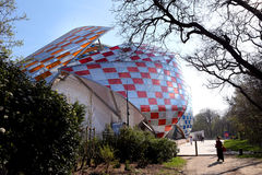 Louis Vuitton Foundation Paris Royalty Free Stock Image