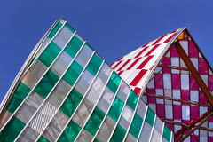 Louis Vuitton Foundation Paris Royalty Free Stock Photo