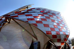 Louis Vuitton Foundation Paris Stock Photography