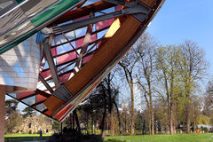 Louis Vuitton Foundation Paris Royalty Free Stock Images