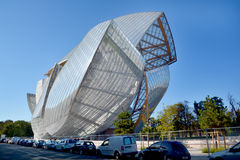 Louis Vuitton Foundation Royalty Free Stock Photo