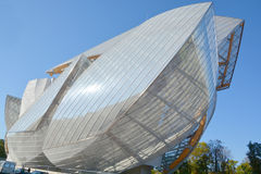 Louis Vuitton Foundation Stock Images
