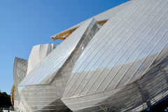 Louis Vuitton Foundation Royalty Free Stock Photos