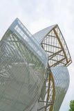 Louis Vuitton Foundation Paris, Frankrike Arkivbilder