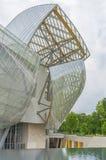Louis Vuitton Foundation Paris, Frankrike Arkivfoto