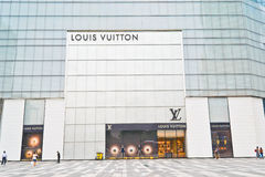 Louis vuitton mall Stock Photo
