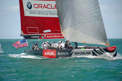 Louis Vuitton Match Racing Pacific Series 1 Stock Photography