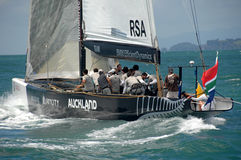 Louis Vuitton Match Racing Pacific Series 7 Royalty Free Stock Photos