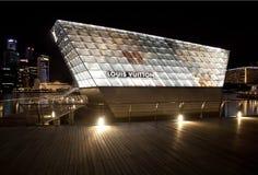 Louis Vuitton memorizza Singapore Immagine Stock Libera da Diritti