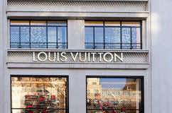 Louis vuitton paris Stock Image