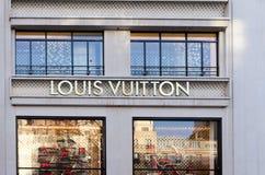 Louis vuitton paris Stock Image