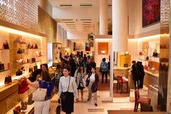 Louis Vuitton Paris Royalty Free Stock Photo