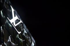 Louis Vuitton Pyramid stock fotografie