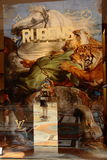 Louis Vuitton Rubens Bag Imagen de archivo libre de regalías