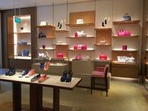 Louis Vuitton Shop Interior Display Foto de archivo libre de regalías