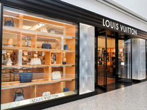 Louis Vuitton shop Stock Image