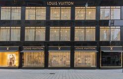 Louis Vuitton shop Royalty Free Stock Photos