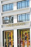 Louis Vuitton shopfront Champs Elysees Royalty Free Stock Image