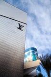 Louis Vuitton speichern Lizenzfreie Stockfotos