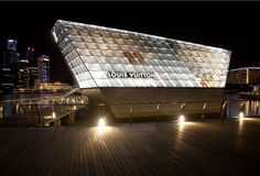 Louis Vuitton speichern Singapur Lizenzfreies Stockbild