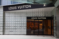 Louis Vuitton Store Stock Image