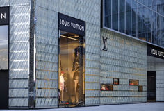 Louis Vuitton Store Stock Photography
