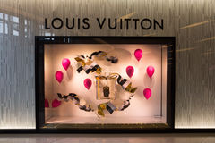 Louis Vuitton store Royalty Free Stock Photo