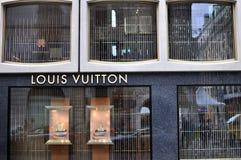 Louis Vuitton store, Geneva Royalty Free Stock Image