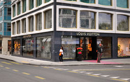 Louis Vuitton store, Geneva Stock Photography
