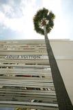 Louis Vuitton Store i Beverly Hills arkivbilder